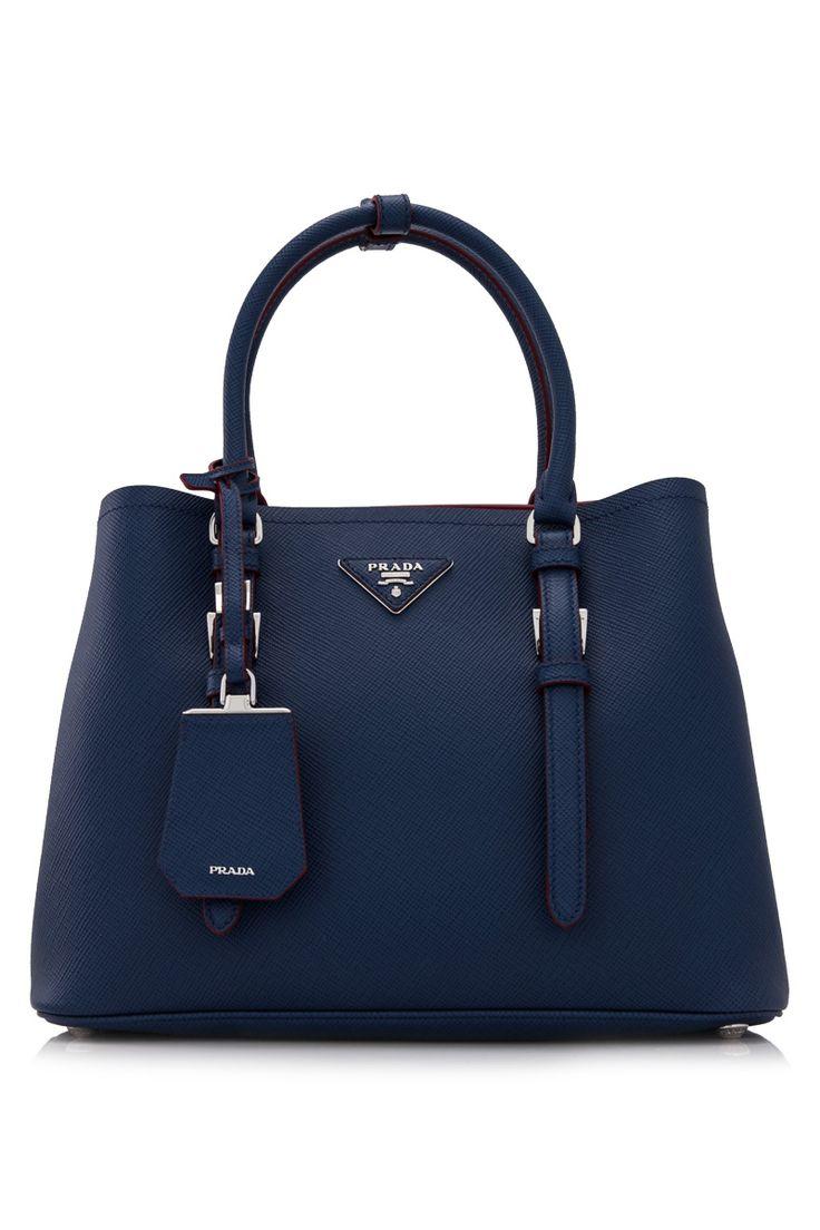 PRADA - Prada Saffiano Cuir Double Bag | Reebonz
