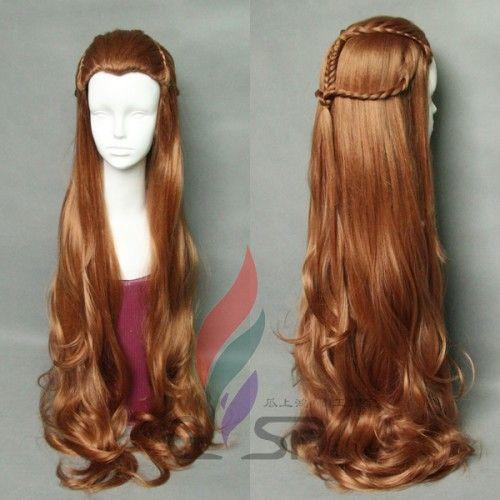 The Hobbit Elf Tauriel Cosplay Wig