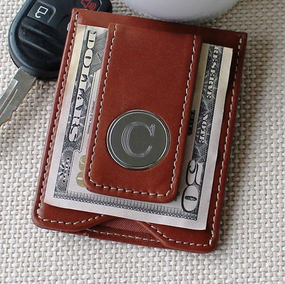 Personalized-Engraved Leather Money Clip/Wallet Combo.  10% OFF for Father's day, use code: SPRING10. #FathersDayMPM #groomsman #wedding #party