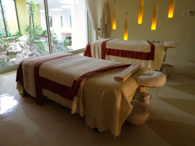 A Couples Spa Suite at the Grand Velas Riviera Maya Spa in Mexico