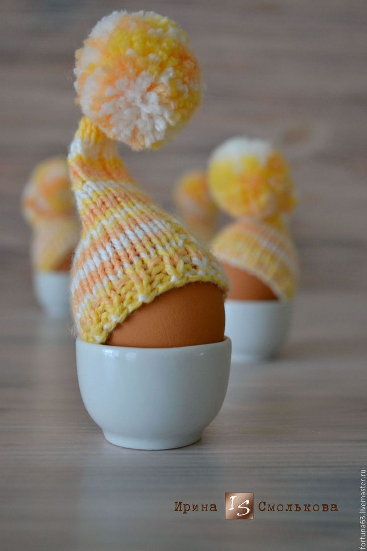 Купить ШАПОЧКА для пасхального яичка - комбинированный, Пасха, пасхальный сувенир, пасхальный подарок, пасхальные яйца