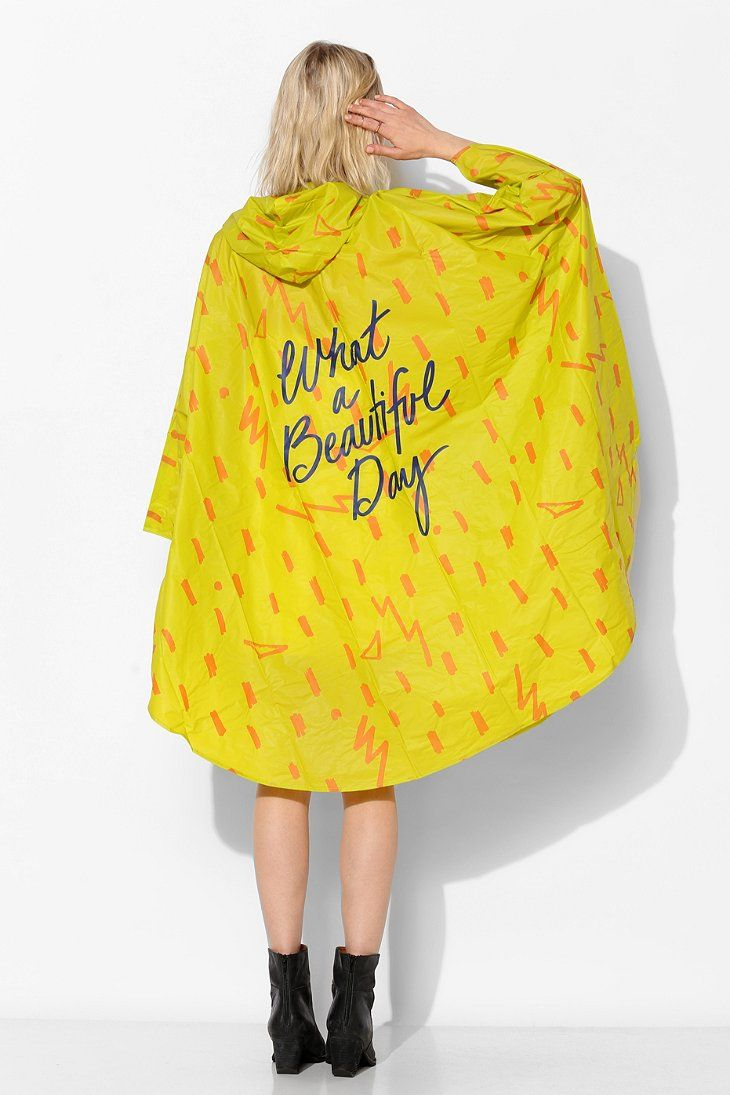 UO Poncho - Urban Outfitters