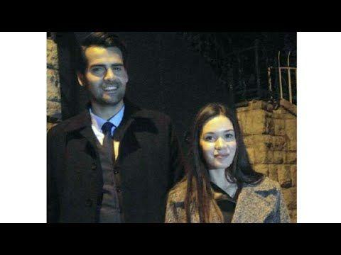 Erkan Meric ve Hazal Subaşi gece gezmesinden dönuyor