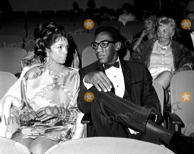 Bill Cosby with His Wife Camille Olivia Hanks 1967 #4675 ...