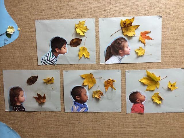 Art i manualitats amb fulles - L'Armari dels Recursos Educatius