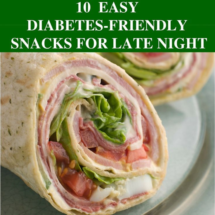 awesome 10 Late Night Diabetes Friendly Snacks