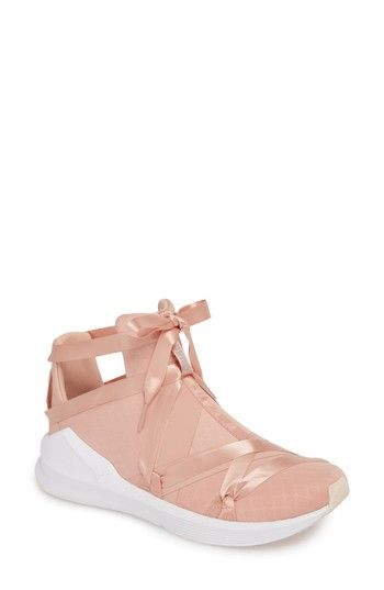 PUMA FIERCE ROPE SATIN EN POINTE HIGH TOP SNEAKER.  puma  shoes ... 0c8d51b85