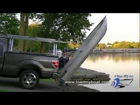 Kayak Racks For Pickup Trucks >> Automatic Rear Boat Loader   Boat, Fishing boats, Truck mods