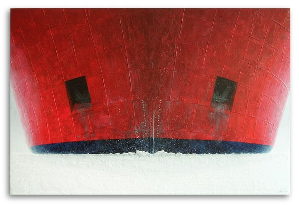 Icebreaker (Acrylic on Canvas)