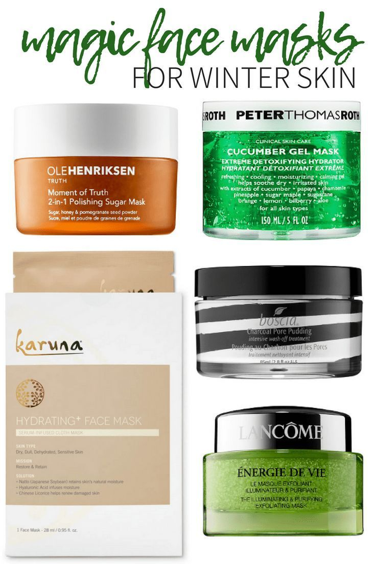 5 Magic Face Masks That Will Cure Your Winter Skin | These masks are great  all year round but are especially good during the winter. #mask #facemask