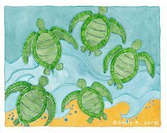 teachers, sea turtles, classroom decorations - Google Search