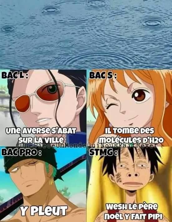Va voir mon tableau de One Piece ;)