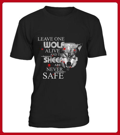 Leave one Wolf alive - Film shirts (*Partner-Link)