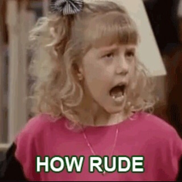 Stephanie from full house is so funny and if I get any hate I will say how rude
