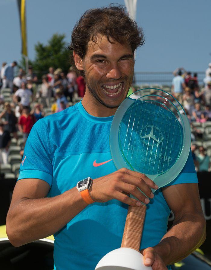 Rafael Nadal beats Viktor Troicki to win Stuttgart title [PHOTOS]   Rafael Nadal Fans