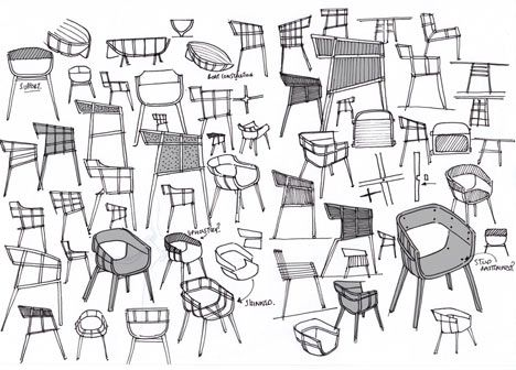 Chair Sketch 121 best design-sketching-chair & sofa images on pinterest