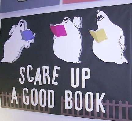 Scare Up A Good Book Bulletin Board