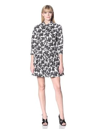 Thakoon Women's Abstract Butterfly Shirt Dress