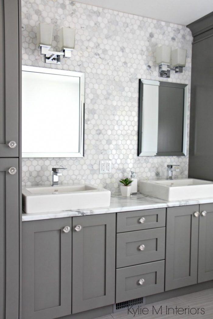 Double Vanity Ideas Taryn Whiteaker Bathroomremodelingdiy Bathrooms Remodel Small Bathroom Remodel Trendy Bathroom