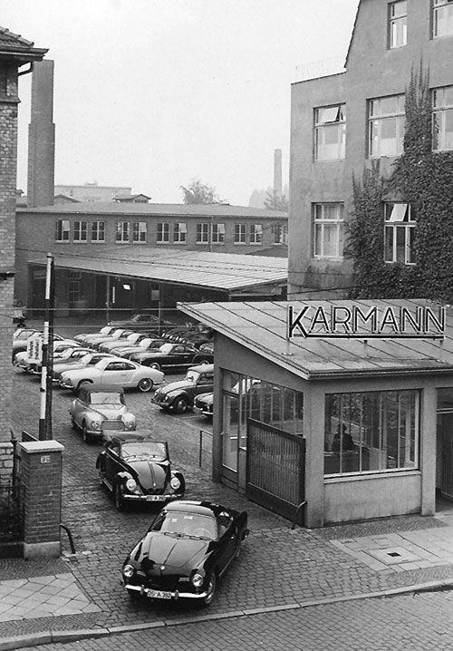 Planta Karmann, Osnabruck, Década de 1950.