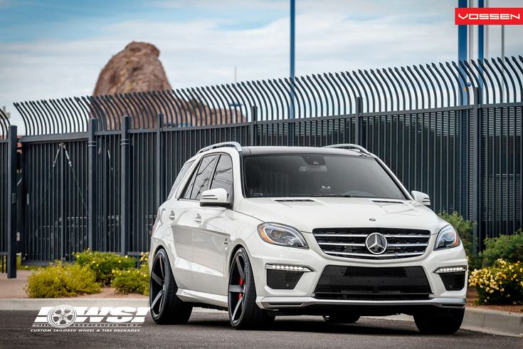 Like most Mercedes cars, the ML 63 AMG looks best in white, which helps its gaping grilles contrast. Description from autoevolution.com. I searched for this on bing.com/images