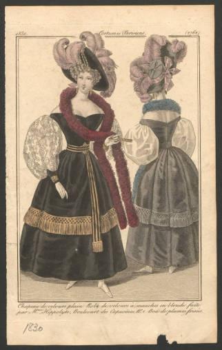 Women 1830, Plate 2763 Costume Institute Fashion Plates