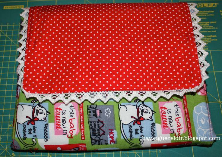 Portable Changing Pad & Diaper Kit