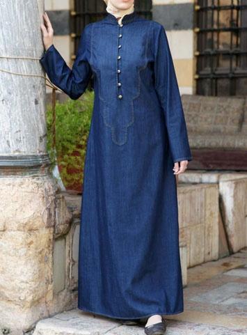 Denim Asilah Dress   The perfect long-sleeved Denim Dress. From SHUKR Clothing