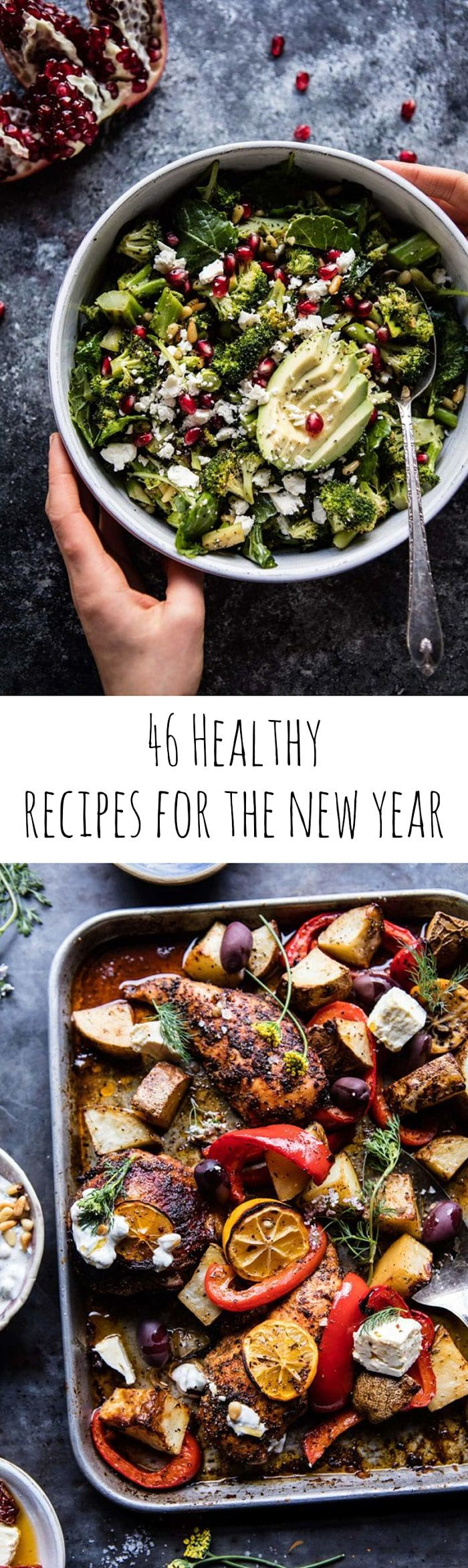 My 46 Favorite Healthy Recipes for the New Year | halfbakedharvest.com @hbharvest