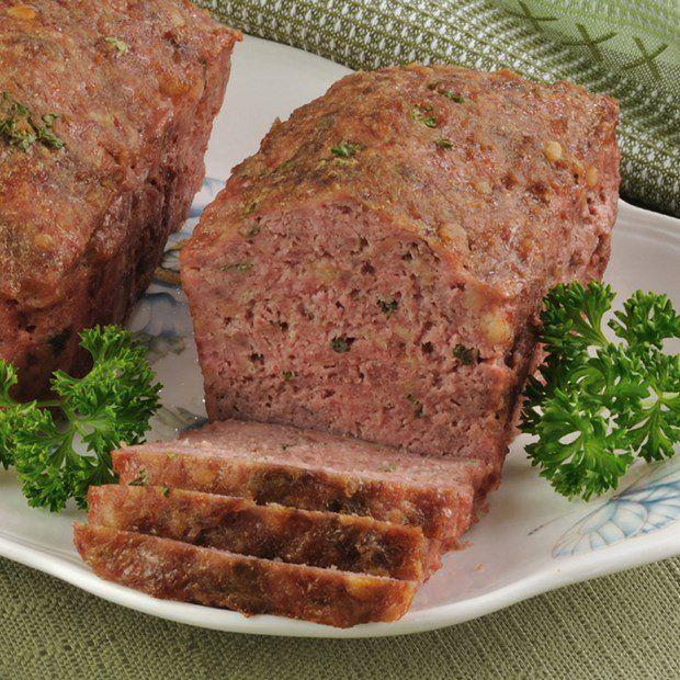 Ham And Beef Meatloaf Ham Recipes Nueske S Recipe Beef Meatloaf Recipes Smoked Ham Recipe