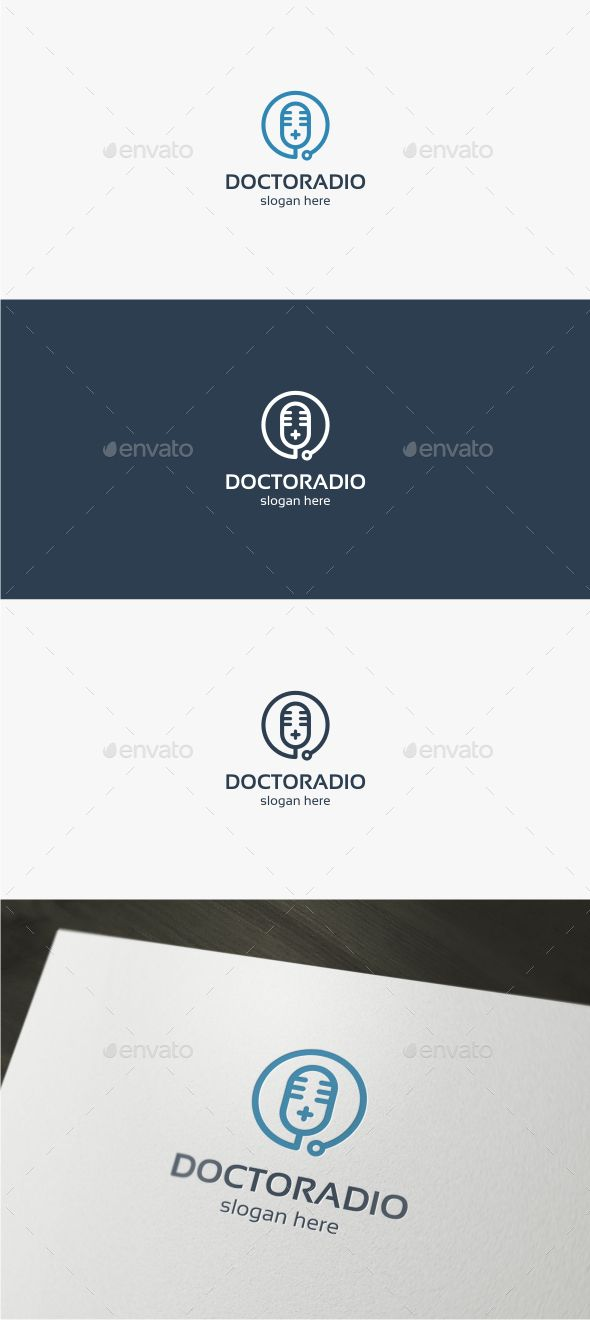 Doctor Radio - Logo Template - Objects Logo Templates