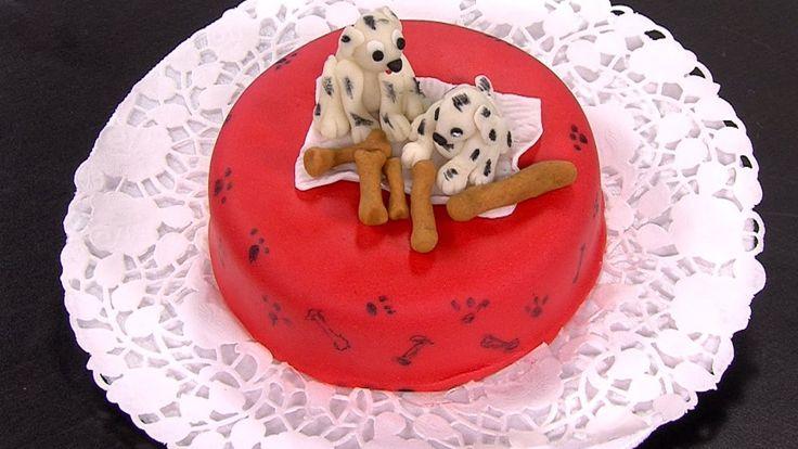Como Hacer un Mini Ponque Dalmata para un Cumpleaños - HogarTv por Juan ...