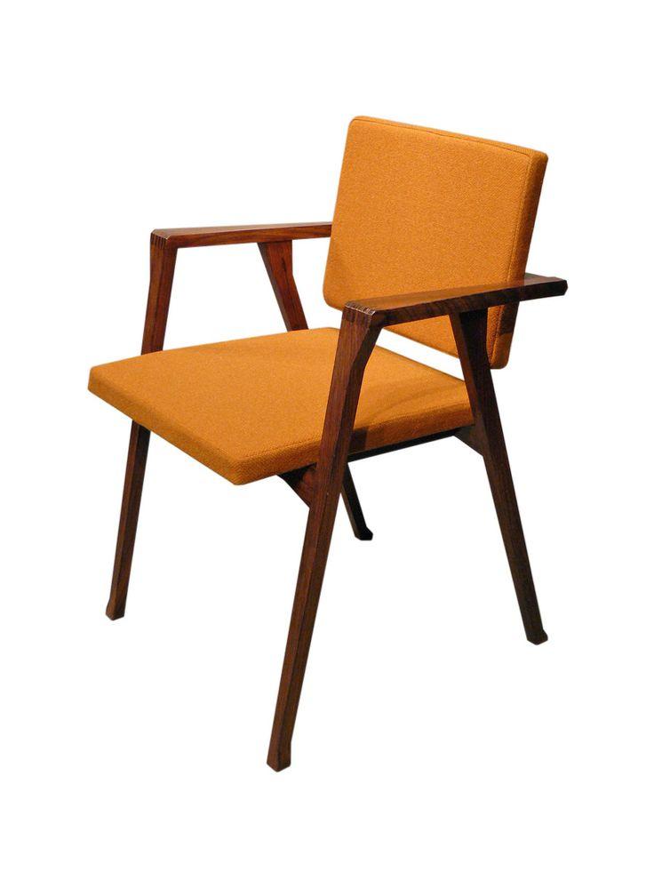 Franco albini sedia luisa prod poggi vintage design for Sedia design vintage