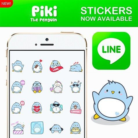 """Piki The Penguin 2017 - Creators' Stickers  Meet """"Piki"""", a kawaii penguin that will make your conversations much more fun!   https://store.line.me/stickershop/product/1391389    #Piki #pikithepenguin #penguinslover #penguins #linecreator #line #stickers #chat #smartphone #download #love #lovecoffee #unicorns #pusheencat #pusheen #picoftheday #instagood"""