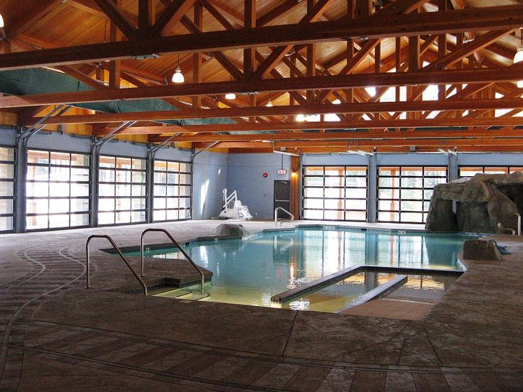Opened in 2010 our fully accessible indoor heated therapy pool and hot tub situated at the heart of camp. #summercamp #outdoorweddings #greatoutdoors