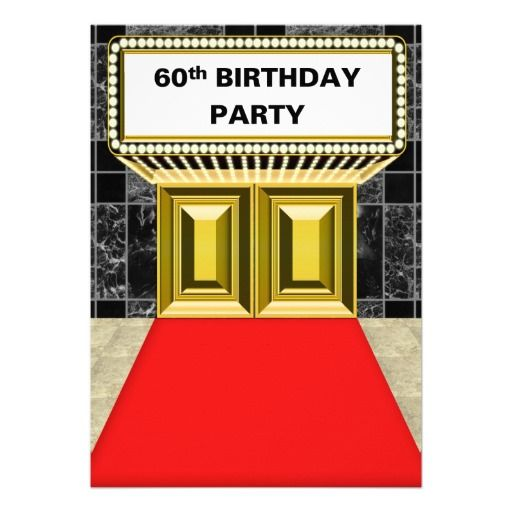 22 Best Images About Broadway Party Theme On Pinterest: 17 Best Ideas About 60th Birthday Cakes On Pinterest