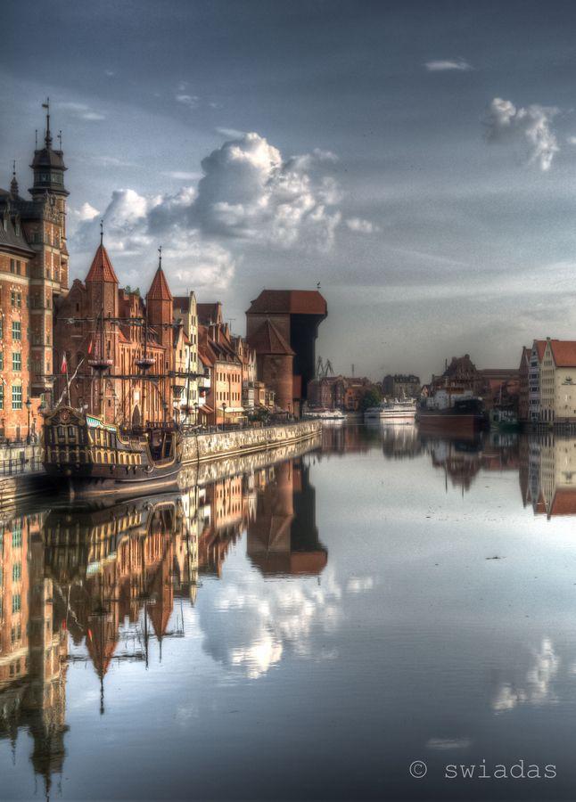 #Gdansk, Long Seashore & #Motlava #River