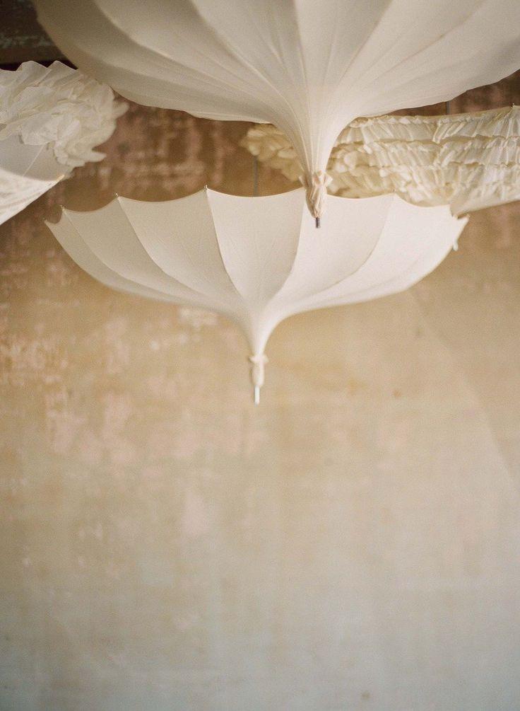 Elizabeth Messina: Ice Caves, Wedding Shower, Mary Poppins, Inspiration, Umbrellas, Wedding White, Parties Stuff, Design Home, Ceilings Decor