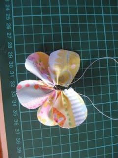 Flower headband tutorial