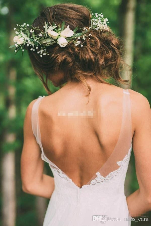 Bohemian Style Country Wedding Dresses Backless Illusion Neck Sleeveless Sheath Chapel Train Vintage Lace Bridal Gowns Plus Size Cheap Shop Wedding Dress Vintage Wedding Dress Shop From Miss_cara, $115.58| DHgate.Com