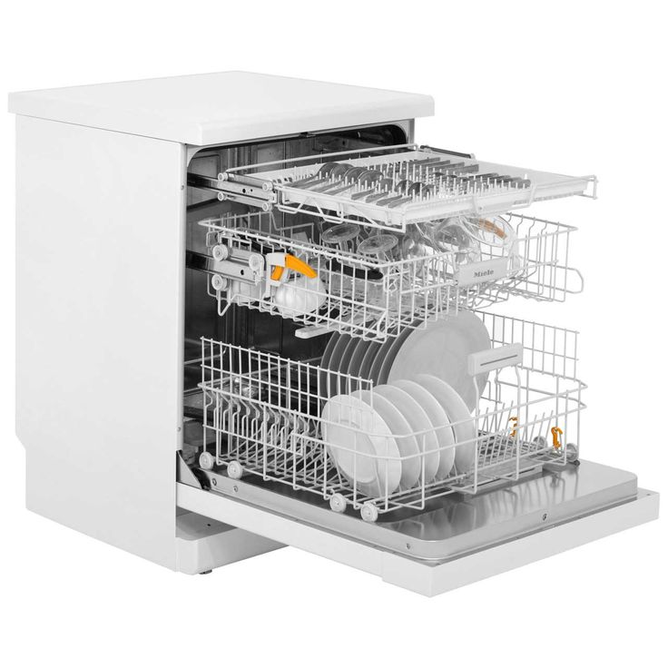 Miele G4203SC Standard Dishwasher White (With images