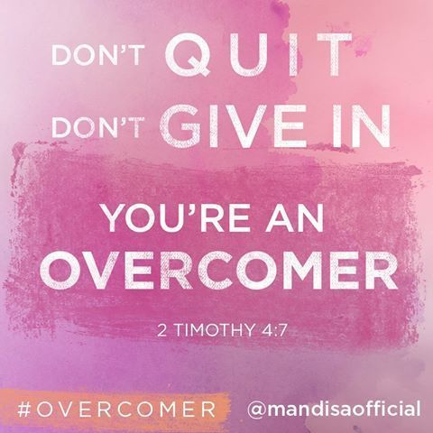 You re an overcomer christian song lyrics