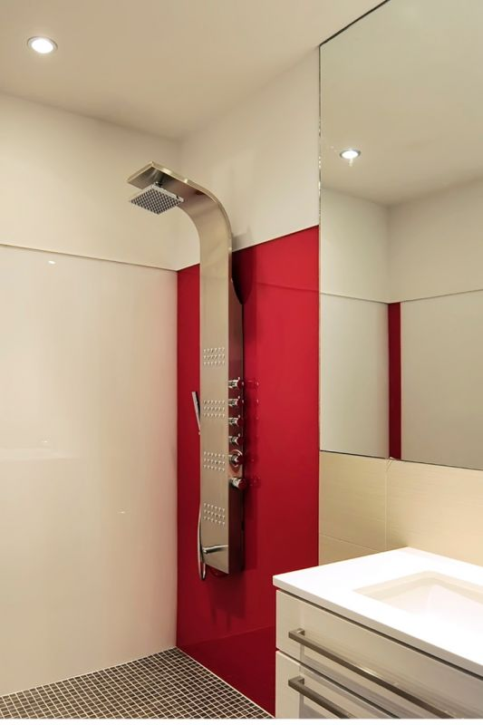 Learn how to compare 5 different types of grout free shower and tub wall panel products.
