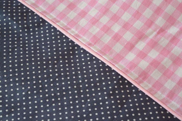 Dekbedovertrek Girls Grey Pink - roze - grijs - strak - meisje
