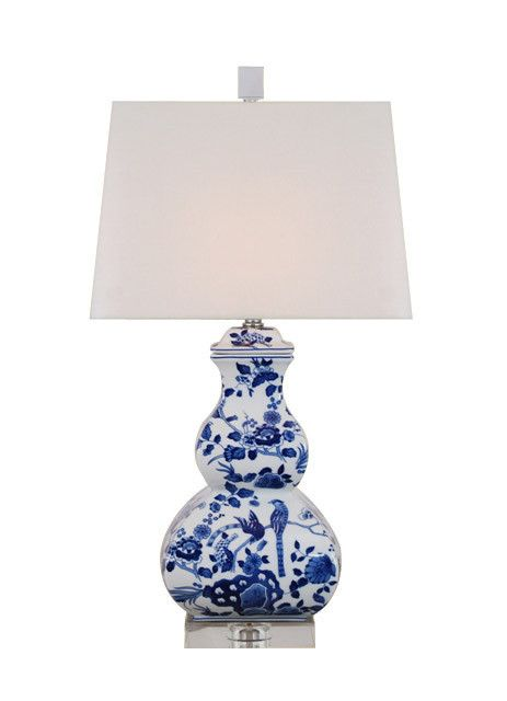 15+ Blue and White Lamps for Chinoiserie Chic Victory!
