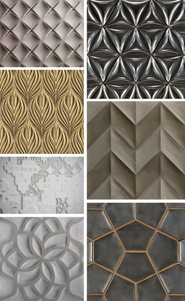 lately loving: 3-dimensional tile