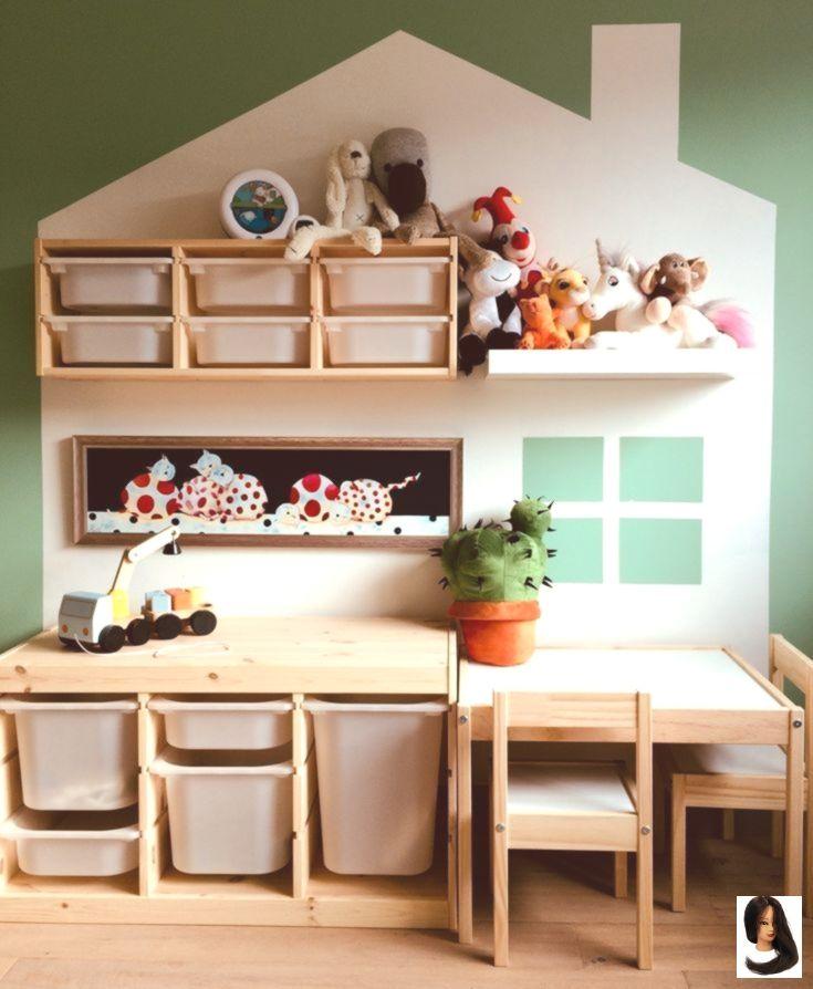 Kinderzimmer mit Ikea Trofast und Latt kinderzimmer