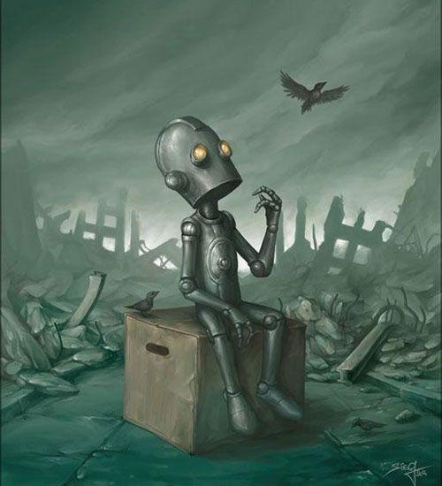 Illustration, Roboter