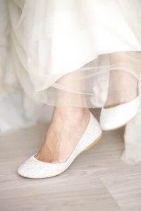 Zapatos planos para novias