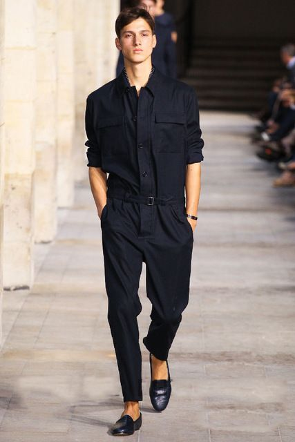 Spring/summer 2017 new men jumpsuits overalls conjoined pants men's cultivate one's morality  Spring/summer   Can be customized